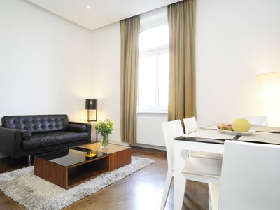 Photo for Serviced 2-R apartment m. Fully equipped, / Wifi and cleaning u. Laundry