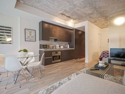 Photo for Spectacular 1BR Condo in Hot King West