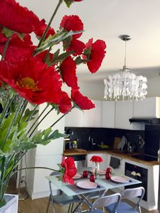 Photo for A 10 min walk from the sea, Pretty F3 cozy CAgnes sur Mer - French Riviera