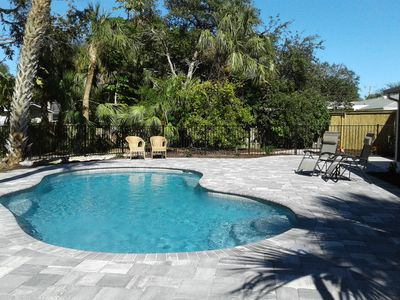 Photo for Private Home-New Pool-10 min walk to Siesta Key Beach