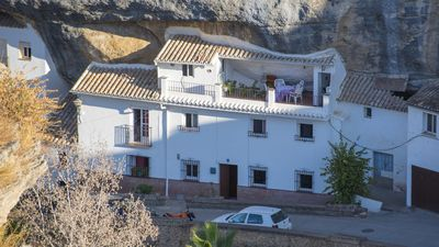 Photo for BellaVista, beautiful unique traditional Andalousian home built into the rocks