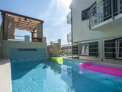 Photo for New Modern Villa In Sevid For 10-12 Persons