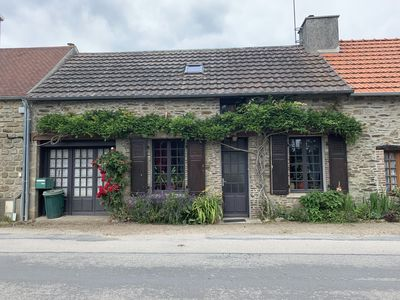 Photo for Beautiful country house in the heart of Normandy facing the river La Saire