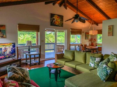 Photo for Hale Hanalei Beach House & Master King Suite Vacation Home TVNC #5154