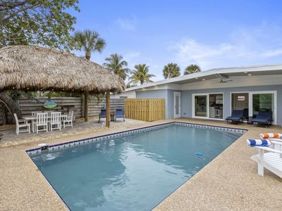 Photo for Canal Front Private Pool Home Within Two Blocks of Siesta Key Village