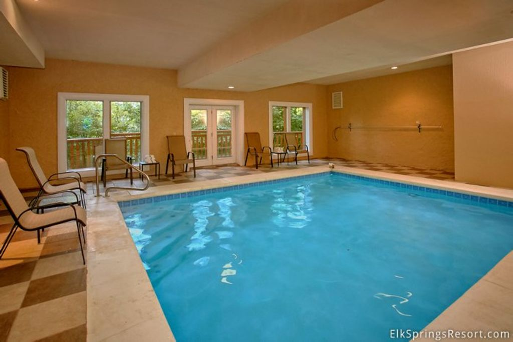 Enjoy a private indoor pool and home theate vrbo for Private indoor swimming pools