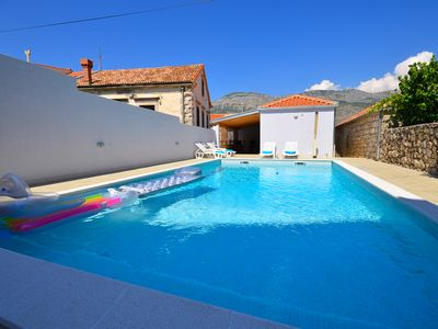 Photo for Quiet Place for Perfect Holiday in Three Bedrooms with Private Pool