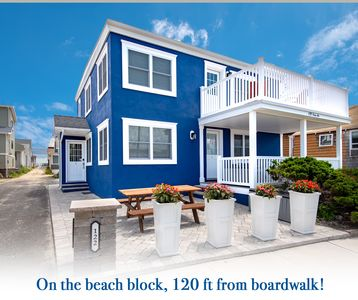 Photo for 1st Fl. Beach Block duplex- sleeps 6> w/PARKING & steps from beach!