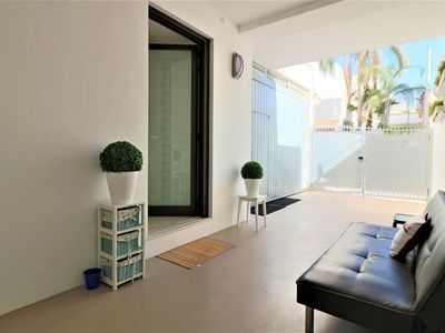 Photo for Tavernetta apartment in Matino with air conditioning & private terrace.