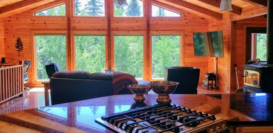 Photo for Magical Forest Cabin:  6 Forested Acres in Divide ~