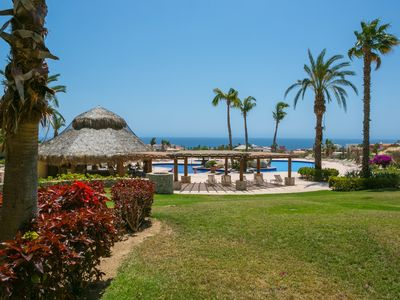 Photo for Quiet and SECURE 2 bedroom Condo adjacent to the fairway at Cabo Real Great View