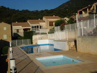 Photo for MAZET FOR 4 PEOPLE IN SECURE RESIDENCE WITH SWIMMING POOL.