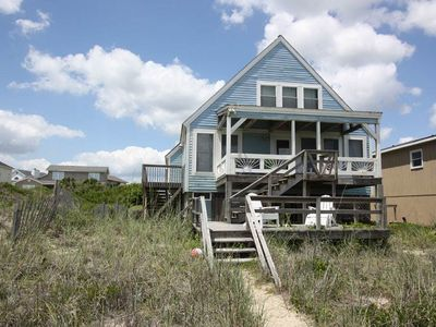 Photo for Cuddle Fish: 4 BR / 2 BA home in Oak Island, Sleeps 8