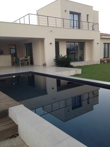 Photo for New contemporary house with pool and large garden