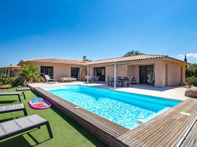 Photo for New air-conditioned villa with private pool 8 people