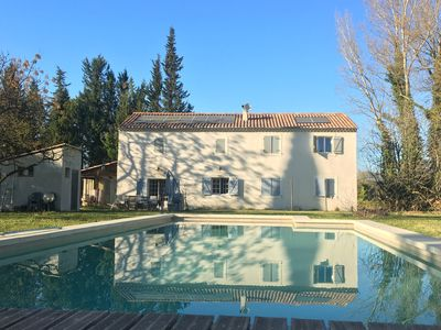 Photo for Superb bastide of 220m ² with swimming pool in park 8000m ²
