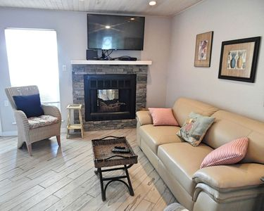 Photo for Trout Quarters! Fall rates!-Beautiful 2 Bedroom, 2.5 Baths, Walk to the Beach!