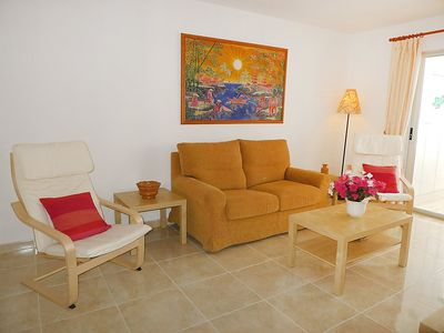 "Photo for Apartment a short walk away (191 m) from the ""Playa del Arenal Bol"" in Calp with Lift, Washing machine, Pool, Garden (90559)"
