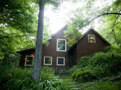 Photo for Country Retreat Nestled in Wooded Valley