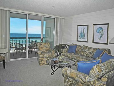 Photo for North Shore Villas 402! 3BR Oceanfront Condo! Book now for best rates!