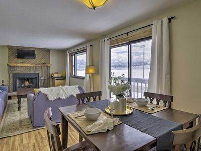 Photo for Fraser Condo w/Deck & Mtn View - 6 Mi to WP Resort