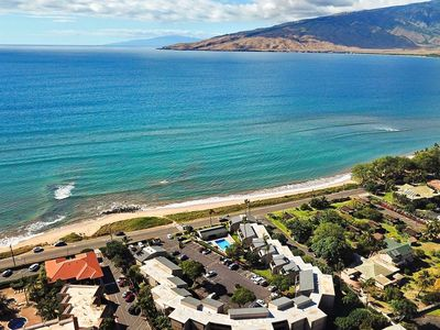 Photo for Quiet Two Bedroom Oceanview Condo on the Top Floor. Central to most attractions