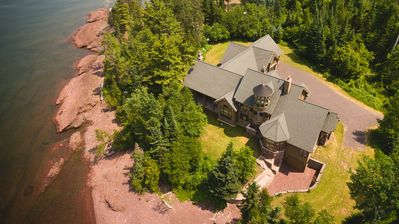The Balcony Suite:  Keweenaw Castle Resort on the Shore of Lake Superior