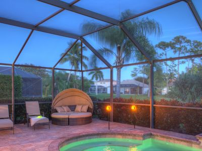 Photo for Briarwood Paradise - Exquisite lake house with private pool, Briarwood, Naples