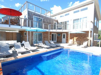 Photo for Luxury New Construction Beachfront Home with Pool - Built In 2016