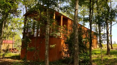 Oakleaf: Sleeps 5, 1 BD, 1 Bath, Forest View, Wifi, Pet Friendly