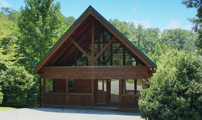 """Photo for """"Bear Haven"""" is a beautiful, upscale cabin located in the Great Smoky Mountains."""