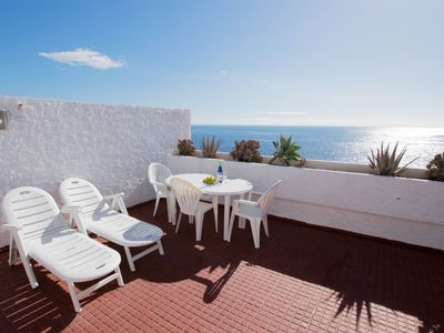 Photo for Dúplex Familiar frente al mar + 300Mb WIFI - Bungalow for 6 people in Candelaria