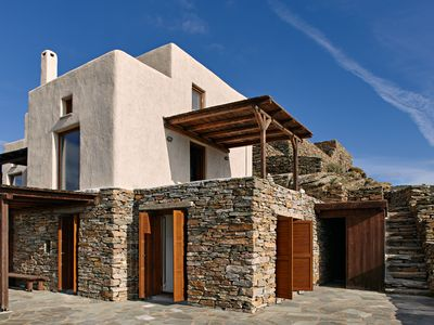 Photo for Cycladic house with panoramic view