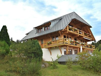 Photo for Comfortable apartment with large roof terrace in Dachsberg-Urberg