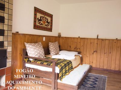 Photo for 2BR House Vacation Rental in Camanducaia, Minas Gerais, Brasil, Minas Gerais