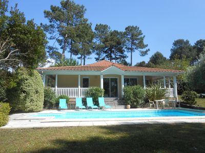 Photo for Villa Eden Park 2 bedrooms, private pool, direct golf course views