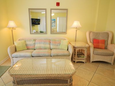 Photo for Gulf Side Rental At Great Rates, 2 BR / 2 Bath, Sugar Sands TW 601