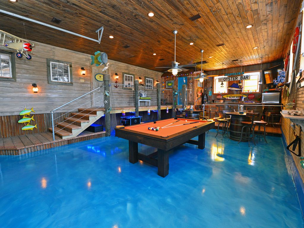 Interactive Game Room Private Pool Amp Beac Homeaway