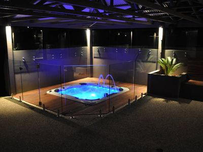 Photo for Large, luxurious, contemporary, private spa and perfectly located close to beach