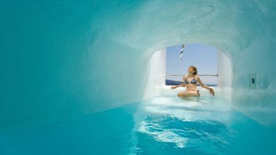 Photo for COME HOME TO HAPPINESS. Elias Exclusive Cave Pool Villa Santorini 2 Bedrooms.
