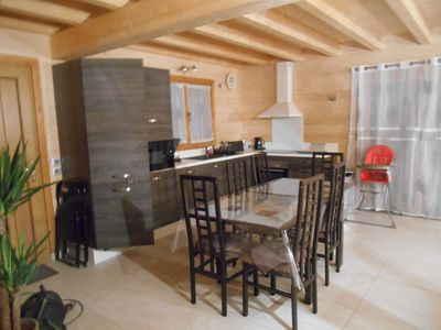 Photo for Nice app 60m2 in chalet sleeps 7