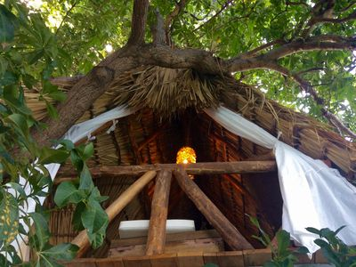 Photo for Tree Nest Luxury Camp. Ometepe volcano view. Private island