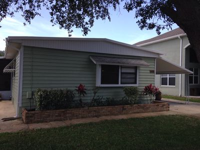 Photo for 2BR Mobile Home Vacation Rental in Oak Hill, Florida