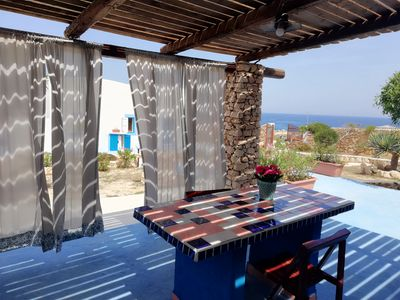 Photo for Villa Serena - Annex with beautiful sea view. June special offer