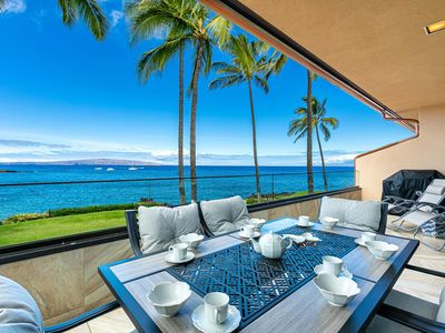 Photo for New Listing! Makena Surf F-201-Oceanfront Condo with Spectacular Ocean Views!