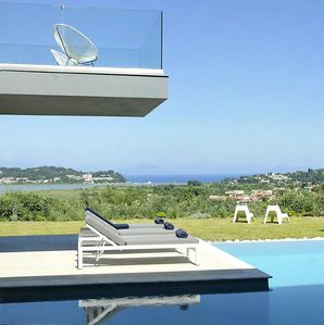 Photo for Corfu - Villa Eve Ultra Modern with Spectacular Sea Views