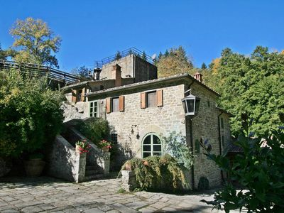 Photo for Romantic Tuscany watermill up to 10 people with private pool & bio-pool