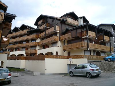Photo for Apartment 5 people in the center of Les Carroz d'Araches