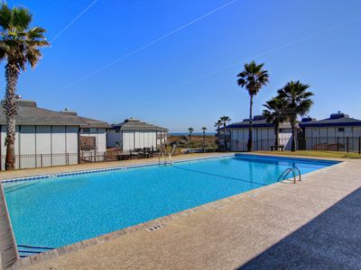 Photo for 2/2 condo in gulf front Beachhead Condominiums! Heated Pool!