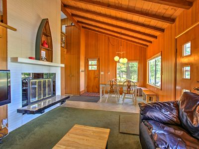 Photo for Lakefront Branch Cottage w/ Dock, Kayaks & Grill!
